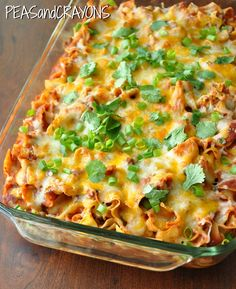 Recipe For Fiesta Enchilada Casserole - Luckily we make real food around here, and Mexican? It happens to be my specialty!