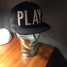 Playcloths SnapBack hat Worn maybe 3x Urban Outfitters Accessories Hats