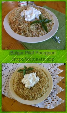 Pilafi Pourgouri (Cypriot Bulgur Pilaf), is not only easy to make, it is cheap…