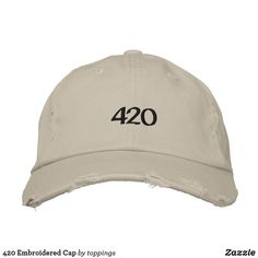 420 Embroidered Cap