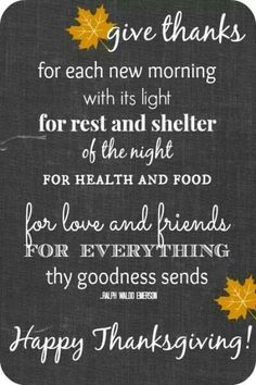 A simple prayer for Thanksgiving...
