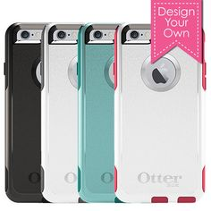 Monogram Otterbox Commuter iPhone 6/6S Case - Lilly Paisley