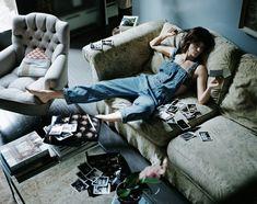 Helena Christensen gunt Vogue Living een kijkje in haar appartement in New York vol vintage vondsten