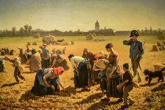 Jules Breton - The Gleaners, 1854 at National Gallery of Ireland - Dublin Ireland | Flickr - Photo Sharing!