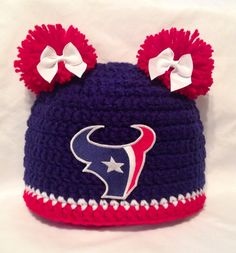 Hey, I found this really awesome Etsy listing at https://www.etsy.com/listing/187547199/houston-texans-girls-pom-pom-or-boys