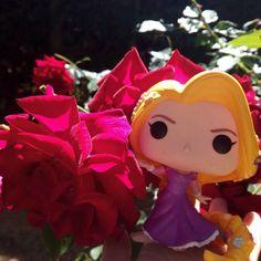 Go live your dreams... . . #rapunzel #funkopop #disney #disneyprincess #funko #funkocollector #funkoaddict #funkomania #disneygirl #disneyfan #disnerd #disneyig #instadisney #nerdgirl #rose #flowers #nofilter