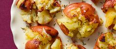 day 253: #pinterestchallenge  so good, a classic    Smashed Potatoes recipes and ingredients