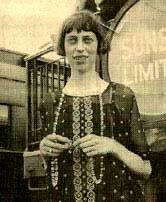 Eudora Welty as a young woman