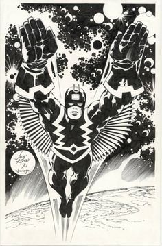 Black Bolt by Jack Kirby