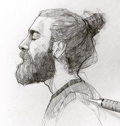 First 2018 sketch ! Let's start! ✍️ #mechanicalpencil #graphgear500 #pentel #sketching