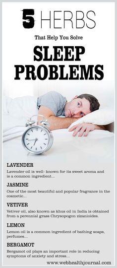 5 Herbs That Help You Solve Sleep Problems