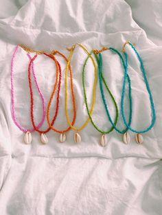 Seed Bead Jewelry, Bead Jewellery, Cute Jewelry, Jewelry Crafts, Beaded Jewelry, Handmade Jewelry, Beaded Bracelets, Seed Bead Necklace, Embroidery Bracelets