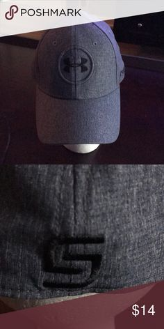 Shop Men s Under Armour Gray size MD LG Hats at a discounted price at  Poshmark. Description  New Jordan Spieth Under Armour golf hat. f08be476057e