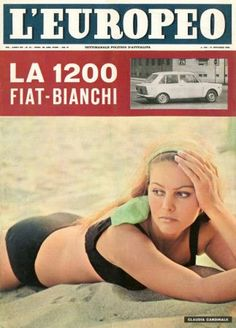 Claudia Cardinale - L'Europeo Magazine [Italy] (October 1964)