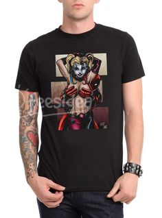 Deadpool Harley quinn Unisex Adult T Shirt - Get 10% Off!!! - Use Coupon Code 'TEES10'