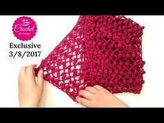How to Crochet Scarf Cowl /Stitch #1 Easy for all Seasons l☕ The Crochet Shop - YouTube