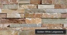 Golden White Ledgestone