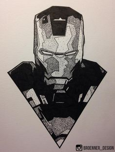 Ironman I grouped the aforementioned questions about the pencil drawing that I received and tried to explain in more detail … Avengers Art, Marvel Art, Marvel Comics, Marvel Drawings, Cool Drawings, Iron Man Drawing, Iron Man Art, Stippling Art, Marvel Tattoos