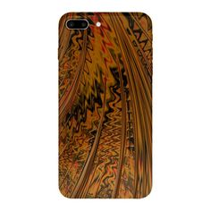 Rain Orange iPhone 7 Plus Cases