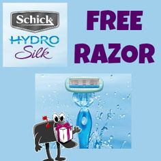 FREE SCHICK HYDRO SILK RAZOR when you send one text you'll get a link to the form http://freebies4mom.com/2013/04/12/silk-2/