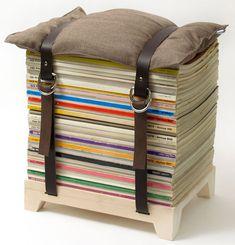 magazine stool.
