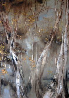 CLAIRE BASLER - painting detail