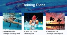 Proper strength training is key to swimming success, whether you're a serious competitor or a recreational swimmer. Our dryland training plans are built for swimmers of all skill levels and all. Swim Workouts, Fitbit App, Challenge, Training Plan, Planer, Improve Yourself, Lose Weight, Swimming, Goals
