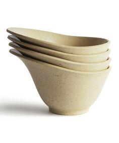 Natural Linen Purelast Prep Cup - Set of Four
