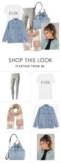 """Travel outfit"" by toqa-198 on Polyvore featuring adidas Originals, Miss Selfridge, Monki and NA-KD"