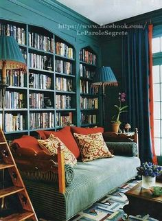 The perfect room for book lovers!