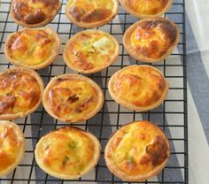 These Mini Ham and Cheese Quiches make a great lunch of snack for the entire family and they are perfect for the kids lunch boxes too!