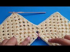 Crochet Baby Dress Pattern, Crochet Diagram, Crochet Blouse, Baby Knitting Patterns, Free Crochet, Crochet Bikini, Crochet Top, Crochet Patterns, Tops Tejidos A Crochet