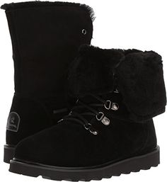 Bearpaw Womens Kayla II Waterproof 6 In Lace Up Boot BlackII 12 *** You can find more details by visiting the image link. (This is an affiliate link)