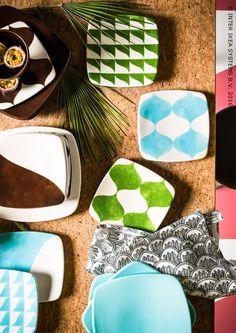 """""""Collection limitée TILLFÄLLE. L'alliance parfaite entre l'exubérance brésilienne et la simplicité scandinave. Service TILLFÄLLE #IKEABE"""""""