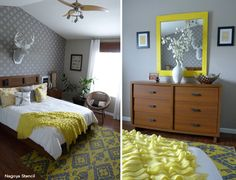 Stenciled Bedroom Ideas Worth Dreaming Over :: Hometalk