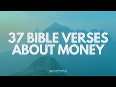 The best resource when it comes to our finances is The Bible. In this video we share 37 Bible Verses about money set to music. Biblical Stewardship, Encouraging Bible Verses, Get Out Of Debt, Managing Your Money, Bible Art, Jesus Quotes, Financial Planning, Finance Tips, Money Management