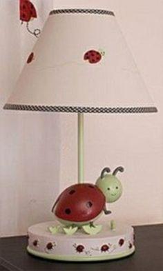 Lady Bug Lamp