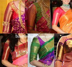 Big Border Blouse Patterns For Your Kanjeevarams