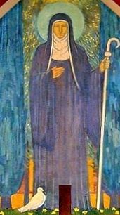 Today we celebrate the feast day of St. Scholastica, twin sister of St. Benedict