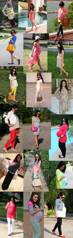 The Simple Swan: Baby Bump Style