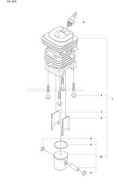 husqvarna 235 chainsaw parts diagram 05 f250 fuse box 18 best chain saw repair images engine 2008 01 schematics page g