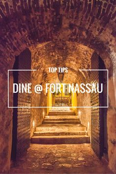 Enjoy 360 degree views of Curacao at Fort Nassau Restaurant. This casual fine dining spot boasts of breath taking views over Willemstad as well as a diverse menu. Grab a drink from the terrace around Fort Nassau's bar during sunset and it will surely be one of the best sunsets you've ever witnessed.