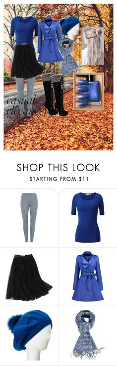 """""""Bluetiful Days 💖"""" by burlesque-fox ❤ liked on Polyvore featuring WithChic, Sofiacashmere and Canali"""