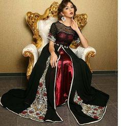 Boutique de mariage caftan et takchita haute couture - Robe caftan ...