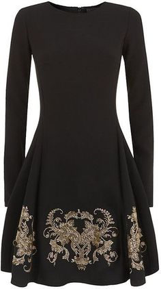 This is what I would like to be designing now. I would have it be off the shoulder with shorter sleeves and have the material be black velvet. Personally, I am a big fan of dresses. I would like to design something similar to this because I think the detailing at the bottom is interesting and unique and I love anything that is velvet. I will follow this through the process of inspiration.