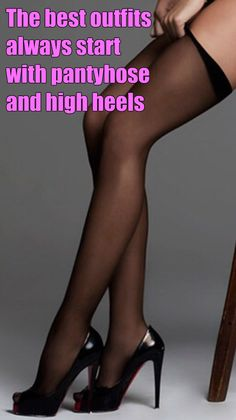 Pantyhose sissies captions impossible