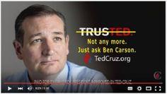 The TRUMP Report - Canadian Cruz Cheats Christian Carson