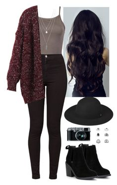 A fashion look from February 2017 featuring snowflake sweater, brown crop top and print skinny jeans. Browse and shop related looks. Bad Girl Outfits, Cute Lazy Outfits, Teenager Outfits, Casual Winter Outfits, Winter Fashion Outfits, Mode Outfits, Look Fashion, Stylish Outfits, Hipster Outfits