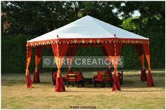 Buy Garden Tent, Raj Tent, Indian Tent – Beautiful Garden Tents for Sale