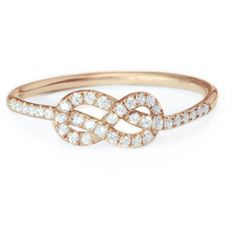 Petite Infinity Ring, Diamond Wedding Band, Solid Gold Infinity Knot... (€710) ❤ liked on Polyvore featuring jewelry, rings, diamond wedding rings, wedding rings, infinity ring, cluster wedding rings and diamond infinity ring